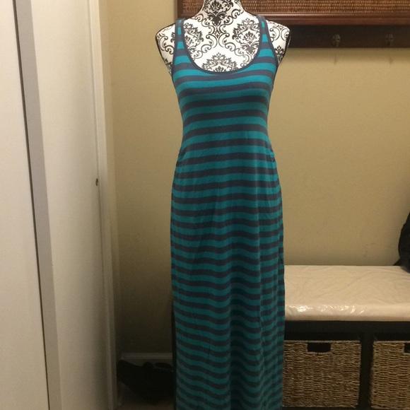 Gap Dresses Gap Maternity Striped Maxi Dress Poshmark